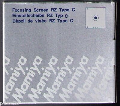 Microprism Focusing Screen (Mamiya RZ PRO II / PRO IID  FOCUSING SCREEN  ( TYPE C / MICROPRISM)