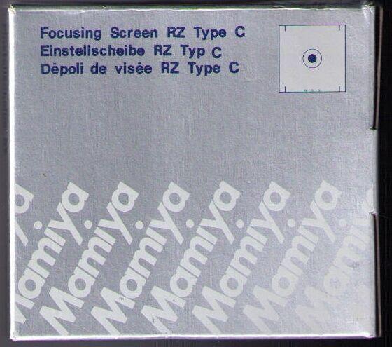 Mamiya RZ PRO II / PRO IID  FOCUSING SCREEN  ( TYPE C / MICROPRISM )!