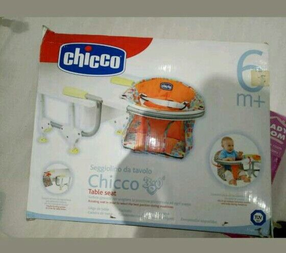 Chicco swivel table chair
