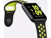Apple Watch Nike+ 42mm Band Strap Black/Volt - Genuine Apple product