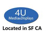 4U Media-Displays,Located in SF CA