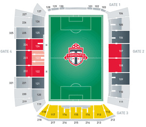 ROW 3 behind home bench!! Section 122 - MLS Cup Final