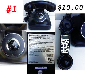 Assorted Phones some Rotary some Push Buttons West Island Greater Montréal image 2