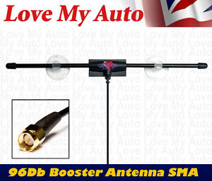 Zorro-SMA-12V-Booster-96db-Gain-Car-Digital-DVB-T-TV-FM-DAB-Antenna-Aerial-SMA