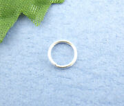 7mm Silver Plated Jump Rings
