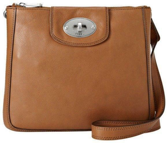 FOSSIL MARLOW CROSS BODY SLING LEATHER BAG (NWF)