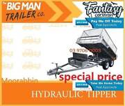 10×6 HOT DIP GALVANISED HYDRAULIC TIPING TRAILER WITH CAGE 3.5T A Moorabbin Kingston Area Preview