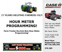 Farm Tractor and Heavy Equipment Hour Meter Repair