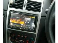PIONEER DOUBLE DIN X5500BT FLIP OUT SCREEN