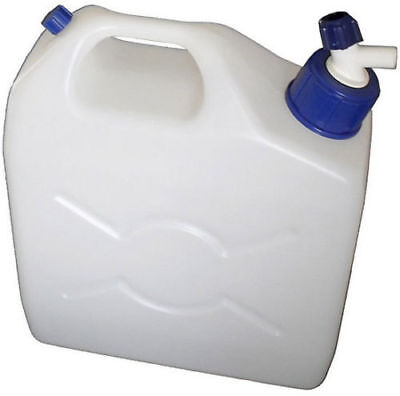 Royal 9.5 Litre Water Container With Tap For Camping Fresh Drinking Jerry Can