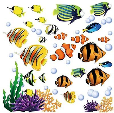 Under the Sea Decorative Peel and Stick Wall Art Sticker Dec