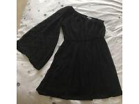 New Look girl`s black dress age 13Y
