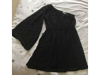 New Look girl`s black dress age 13Y