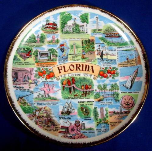 Vintage Souvenir Plate Ebay