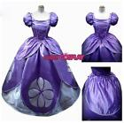 Girls Purple Princess Costume