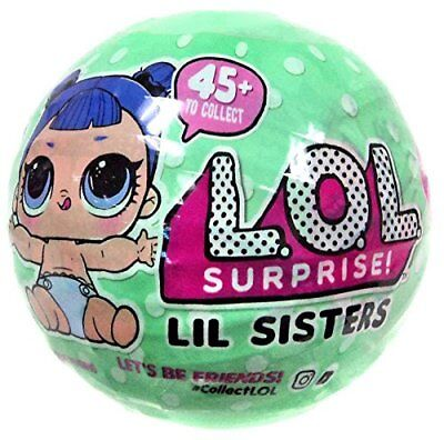 New  Lol Surprise Ball Series 2 Wave 2  Little  Lil Sisters Doll   5 Surprises