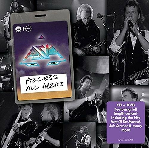 ASIA - ACCESS ALL AREAS  CD+DVD NEU