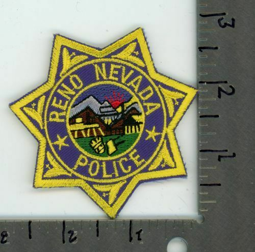 NEVADA NV RENO POLICE NEW PATCH SHERIFF