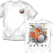Mens T Shirts Drums