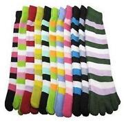 Womens Toe Socks