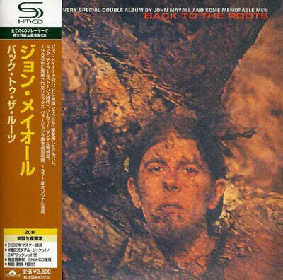 JOHN MAYALL, BACK TO THE ROOTS, AUTH 2 x SHM-CD, JAPAN 2008, UICY-93556/7 (NEW)