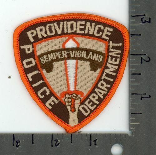 RHODE ISLAND RI PROVIDENCE POLICE NEW PATCH SHERIFF CAP SIZE