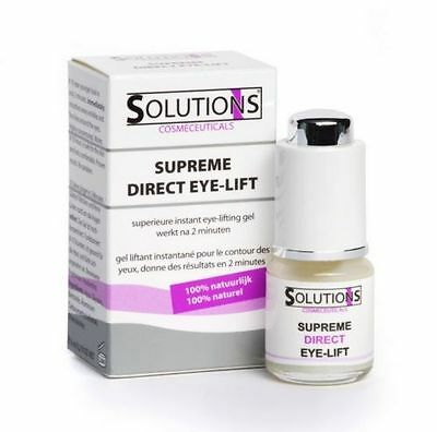 SOLUTIONS Supreme Direct Eye-Lift // Sofort Lifting Serum - 6 ml - PZN: 13970869