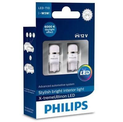 PHILIPS 127996000KX2 X-tremeUltinon T10 W5W 6000K KALTWEISS INNENBELEUCHTUNG online kaufen