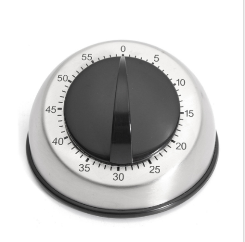 Long Ring Bell Alarm Loud 60-Minute Kitchen Cooking Wind Up Timer Mechanical US Home & Garden