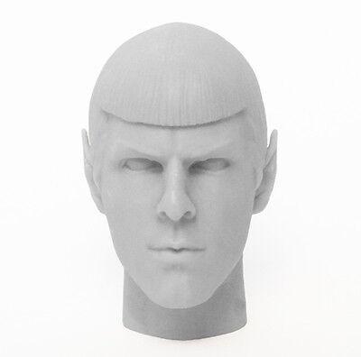 1/6 Custom Resin Spock Star Trek Zachary Quinto Unpainted Head Sculpt , usado segunda mano  Embacar hacia Argentina