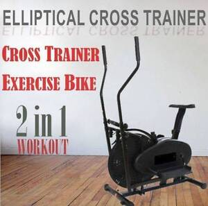 2in1 elliptical cross trainer exercise machine BRAND NEW! Castle Hill The Hills District Preview
