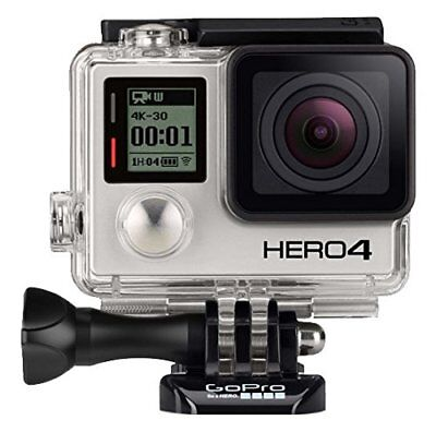 GoPro HERO 4 BLACK EDITION 4K Action Camera Camcorder CHDHX-401 12MP Camera