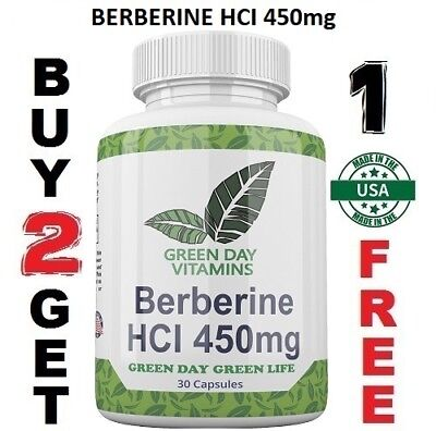 Berberine Hci 450Mg  Depression Cholesterol Heart