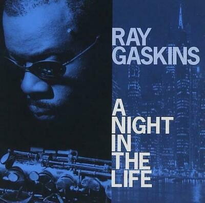 RAY GASKINS A NIGHT IN THE LIFE CD NEW SEALED ROY AYERS JOCELYN BROWN 2009 ALBUM