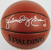 Julius Erving Autographed Basketball