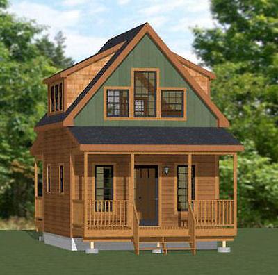 16X20 Tiny House    574 Sq Ft    Pdf Floor Plan    Model 4B