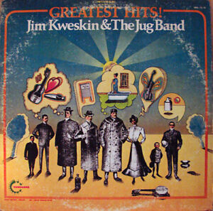 Psychedelic Rock LPs - Jim Kweskin & the Jug Band/Jim Kweskin #2