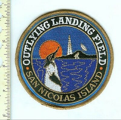 Military Patch US Navy Outlying Air Field San Nicolas Island