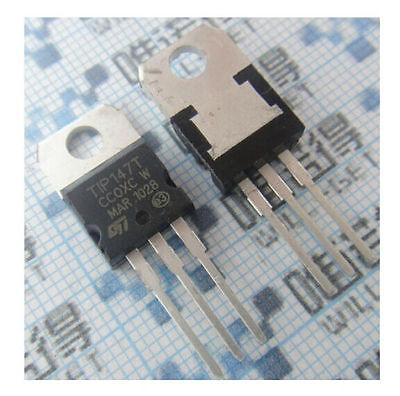 5 Pairs Tip142ttip147t Npn Pnp Transistors To-220 New