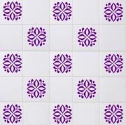 Purple Tile Transfers