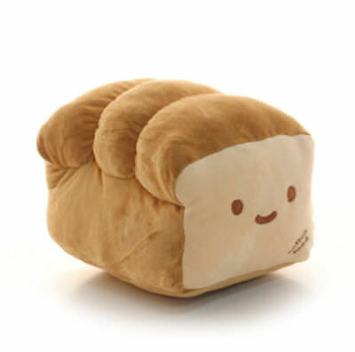 "Bread Pillow 10""(25cm) Plush Cushion Doll Room Home Decoration Gift Cute"