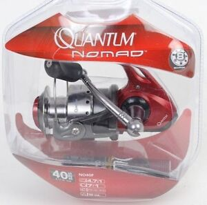 NEW Quantum Nomad 20  (8)Ball Bearing Spin Fishing Reel,