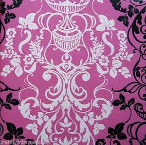 Retro tapete rosa