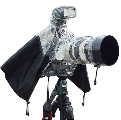 Universal Rain Cover Rainproof Dust Protector for Camera Nikon Canon for srl