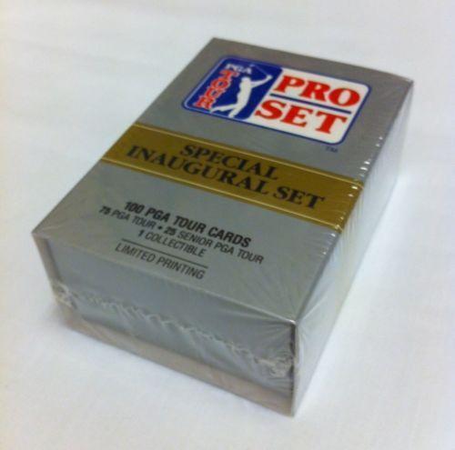 1990 pro set golf cards ebay. Black Bedroom Furniture Sets. Home Design Ideas