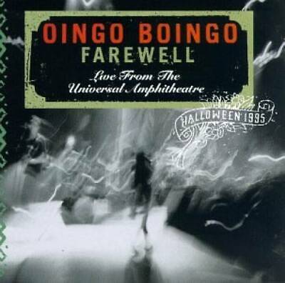 Oingo Boingo Live Halloween (Farewell: Live from the Universal Amphitheater, Halloween1995 - VERY)