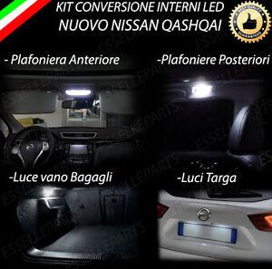 Kit Led Interni Luci Targa Specifico Nuovo Nissan