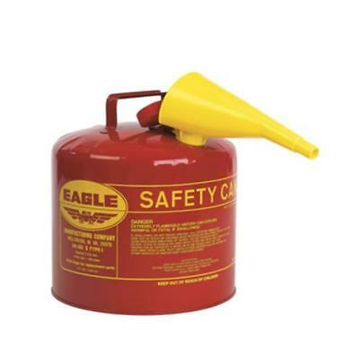 Eagle Ui-50-fs Type I Safety Gas Can 5 Gallon