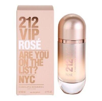 212 VIP Rose by Carolina Herrera 2.7 oz EDP Perfume for Women New In Box