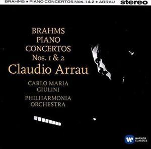 Brahms-Piano-Concertos-1-amp-2-Claudio-Arrau-Carlo-Maria-Giuli-CD-08256467681